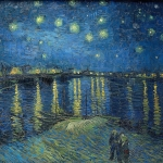 Van Gogh, Rhine, starry night, Vincent, Don maclean