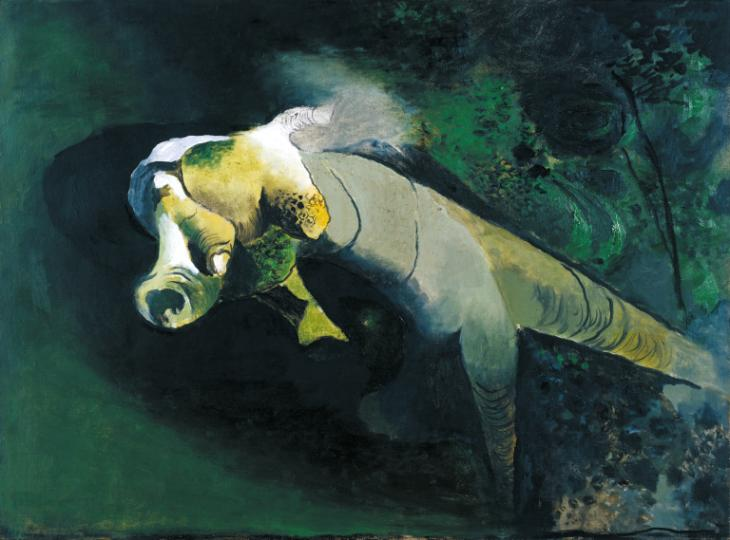 Green Tree Form: Interior of Woods 1940 by Graham Sutherland OM 1903-1980