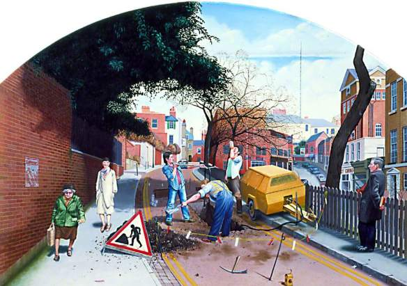 Redfern, David, b.1947; Work