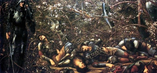 Burne-Jones, The Briar Wood, Tate