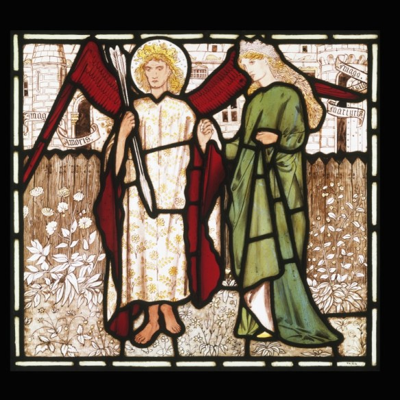 Burne Jones, stained glass, V&A
