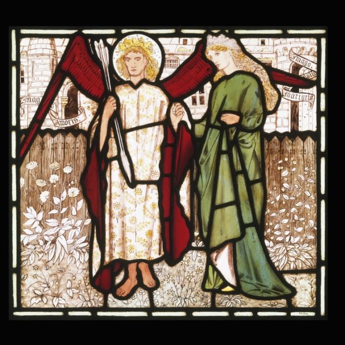 Burne Jones, stained glass, V&A