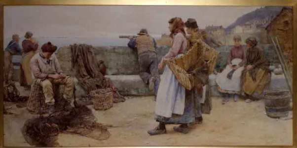 Newlyn, Walter Langley, Fishing, Art colony, fishing industry