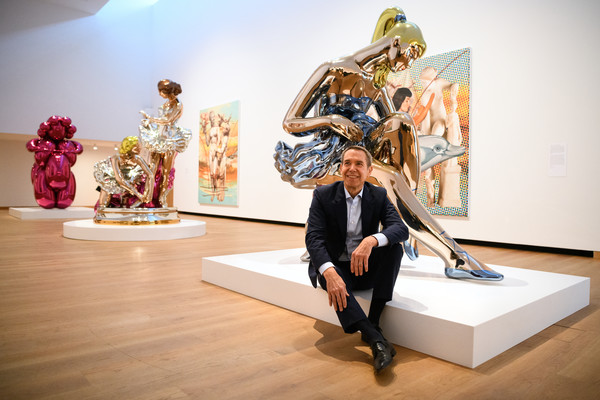Koons, ballerinas, Jeff, oxford