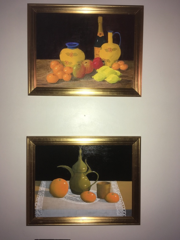 Oranges, Champagne, coffee pot, Oxfordshire, Artweeks