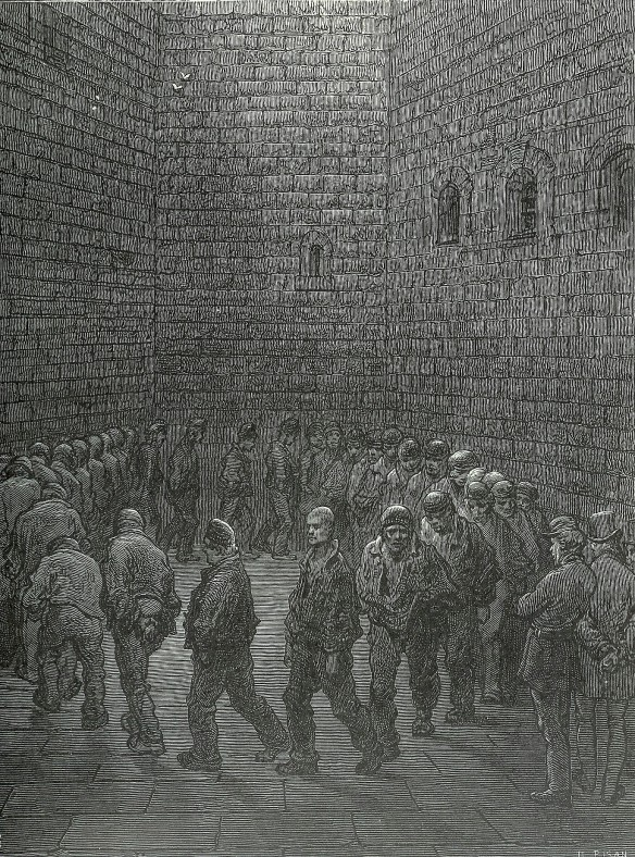 Dore, Tate, Holloway prison, Van gogh