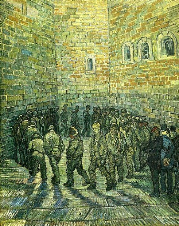 Negate prison, Van Gogh, Tate,