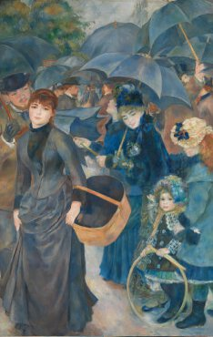 Umbrellas, London, Renoir