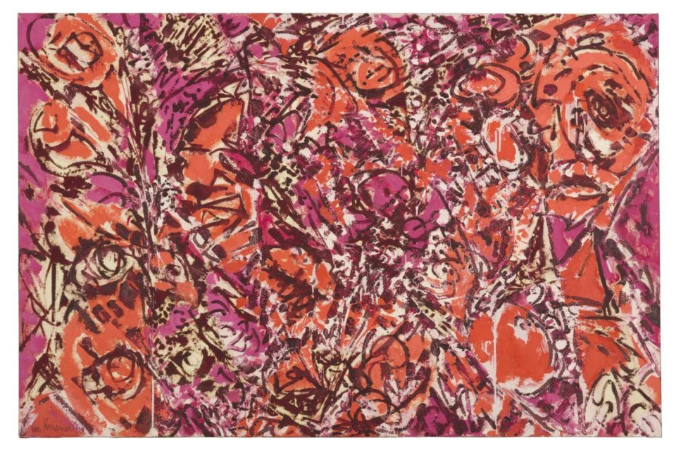 Barbican, Icarus, Pollock, Krasner