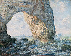 Dieppe, Etretat, Monet, cliffs, arches, new york