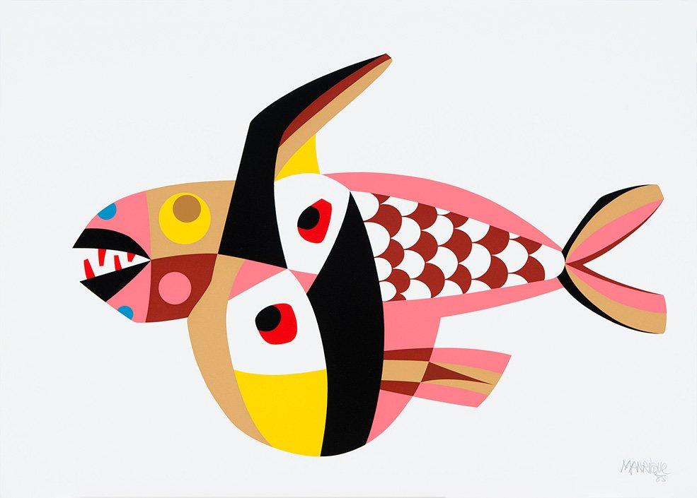 Fish, Art, Teguise Arricife Lanzarote