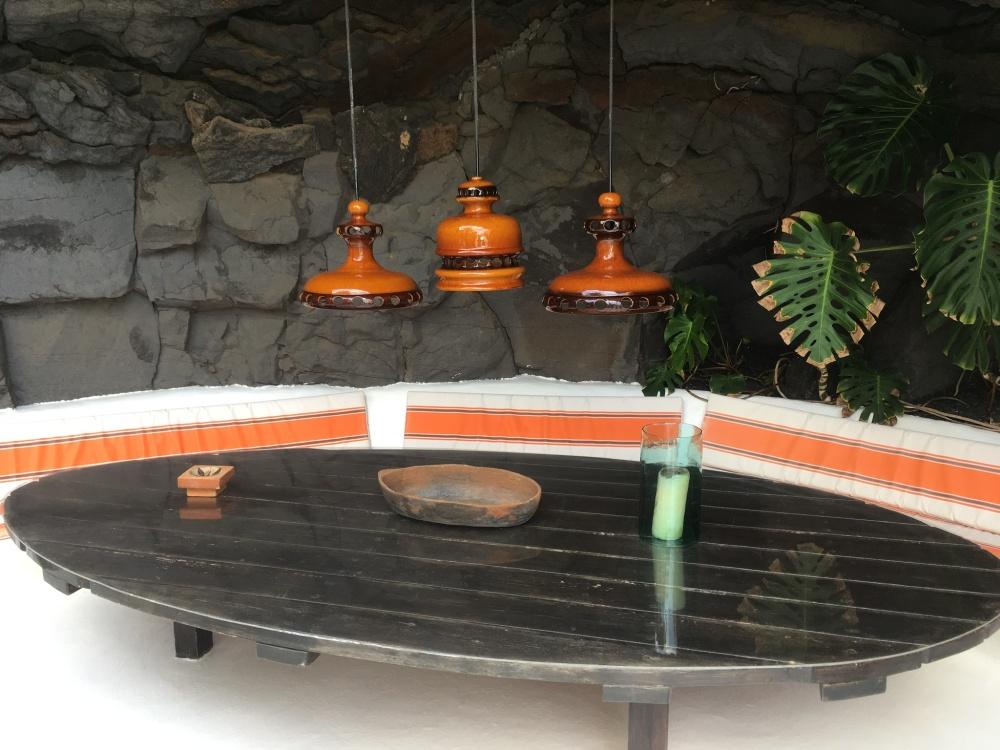 Volcano house, architecture, Lanzarote, Teguise