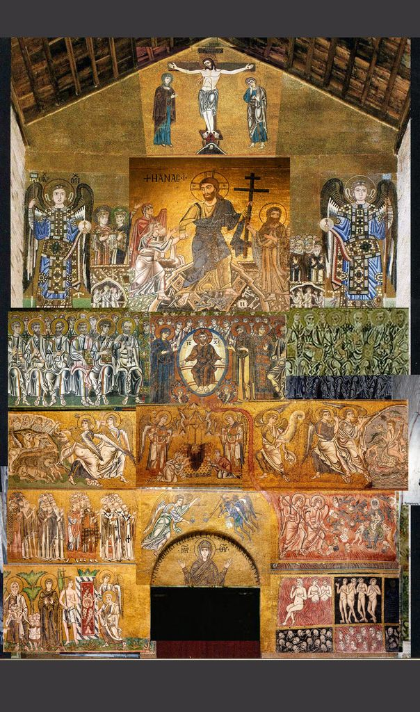 Byzantine venice mosaic
