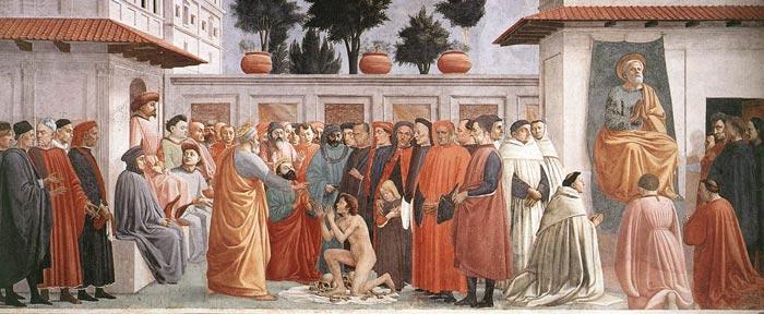 Masolino, Lippi, carmellites, botticelli