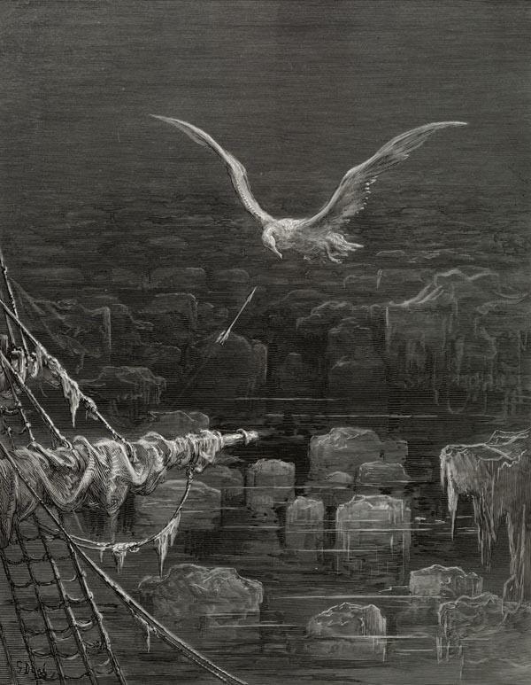 Venice, Gloucestershire, floods, albatrosses, ancient mariner