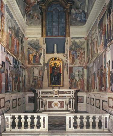 Florence, fresco, Carmine
