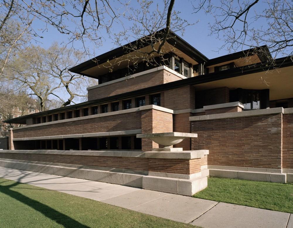 Chicago February prairie Frank Lloyd Wright