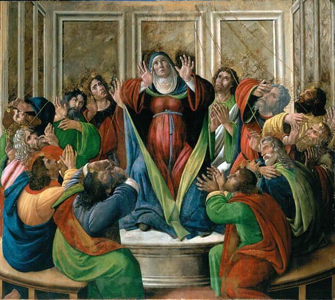 PentecostBuster the cat, adlestrop, apostles, Birmingham, botticelli