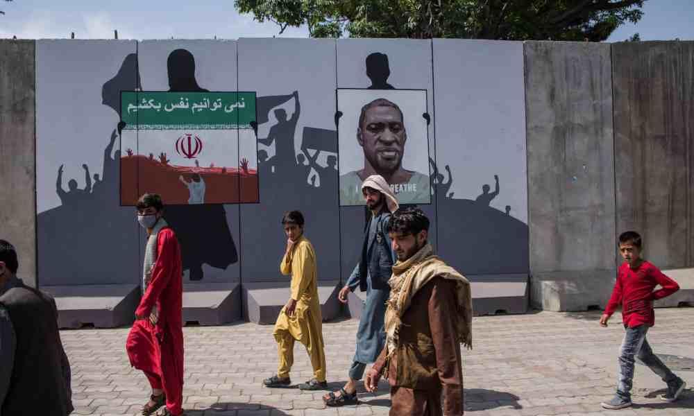 Afghanistan, warlords, Artlords, murals blast walls