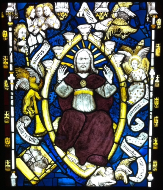God in Majesty, York Minster, john Thornton, Great East Window, apocalypse.