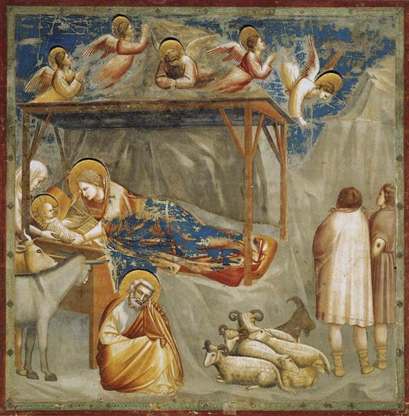 Giotto di Bondone, The Birth of Jesus