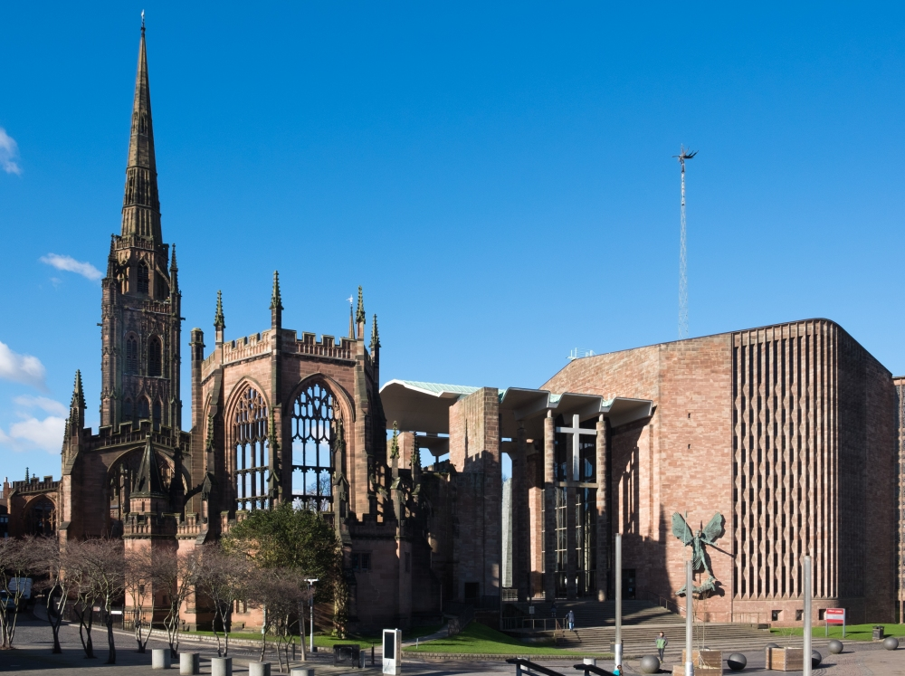 The Cathedral of St Michael's, Coventry, C15th century and 1962