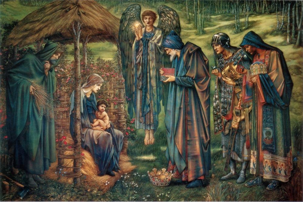 Edward Burne Jones, , qiiot, Birmingham Museum and Art GalleryStar of Bethlehem,