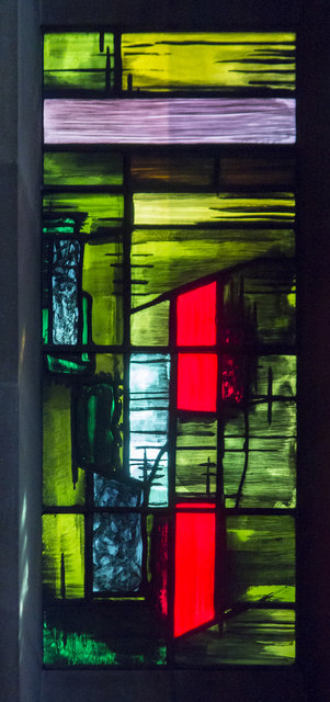 Patrick Reyntiens, John Piper, Basil Spencer, Baptistry window, Coventry cathedral, stained glass