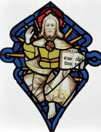 God the Father, Great East Window, York Minster, 1402-1405