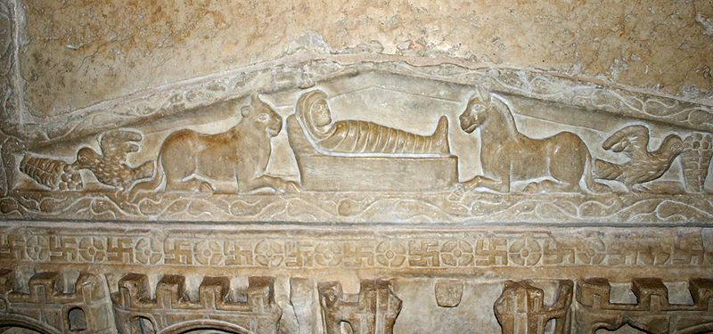 Nativity Scene from sarcophagus, Italy (4th century), Rome, Giotto,