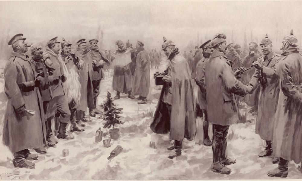 London Illustrated News, Jan. 1915,  The Christmas Truce