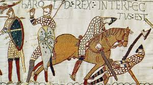 King Harold II, battle of Hastings, William the conqueror, Bayeux tapestry
