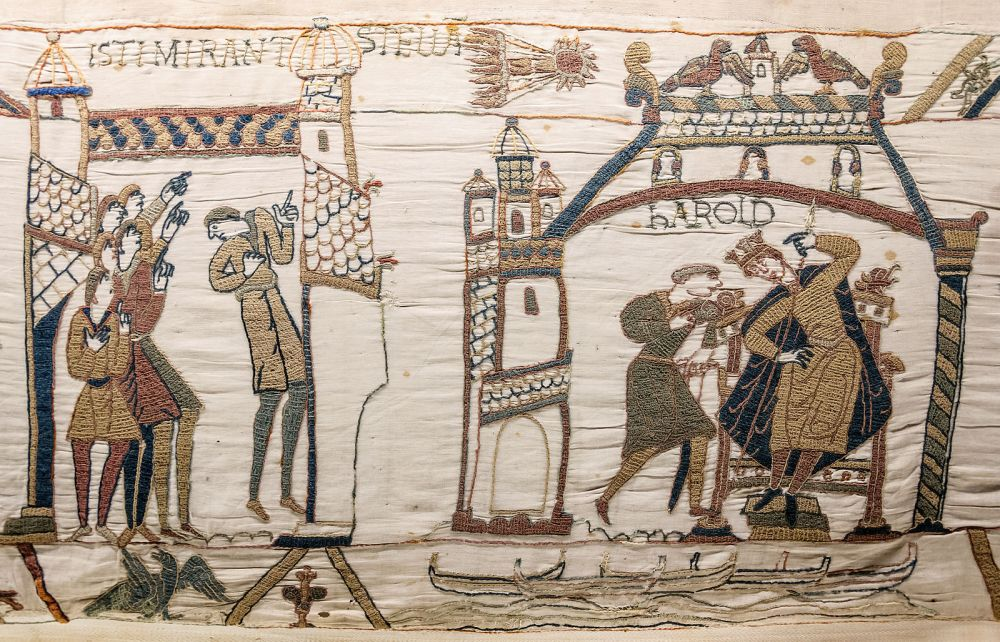 Battle of Hastings, Edward the confessor, Bayeux tapestry,