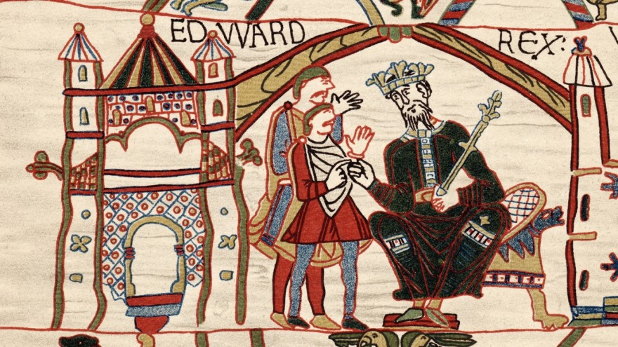 Edward the confessor, Bayeux tapestry, battle of Hastings, William the conqueror
