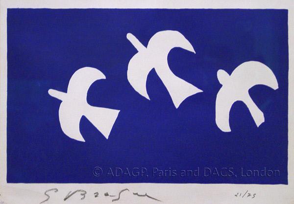 George's Braque, Birds in Flight, New Art Gallery, Walsall, Garman Ryan collection