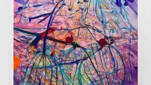 Jadé Fadojutimi, untitled, Vision & Reality, Hepworth Wakefield 2020