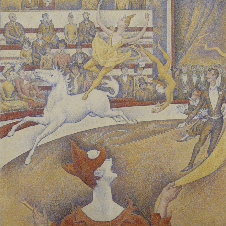 George's, Seurat, The Curcus, Musée D'orsay