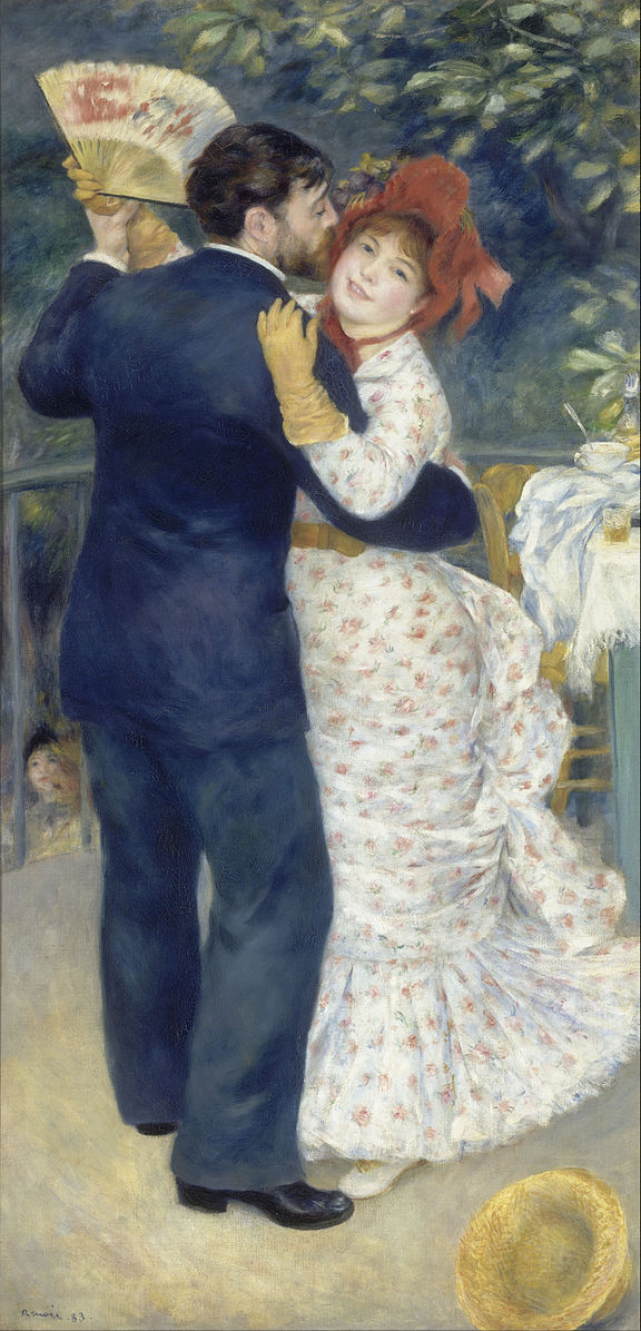 Renoir, dance in the country, musee D'Orsay