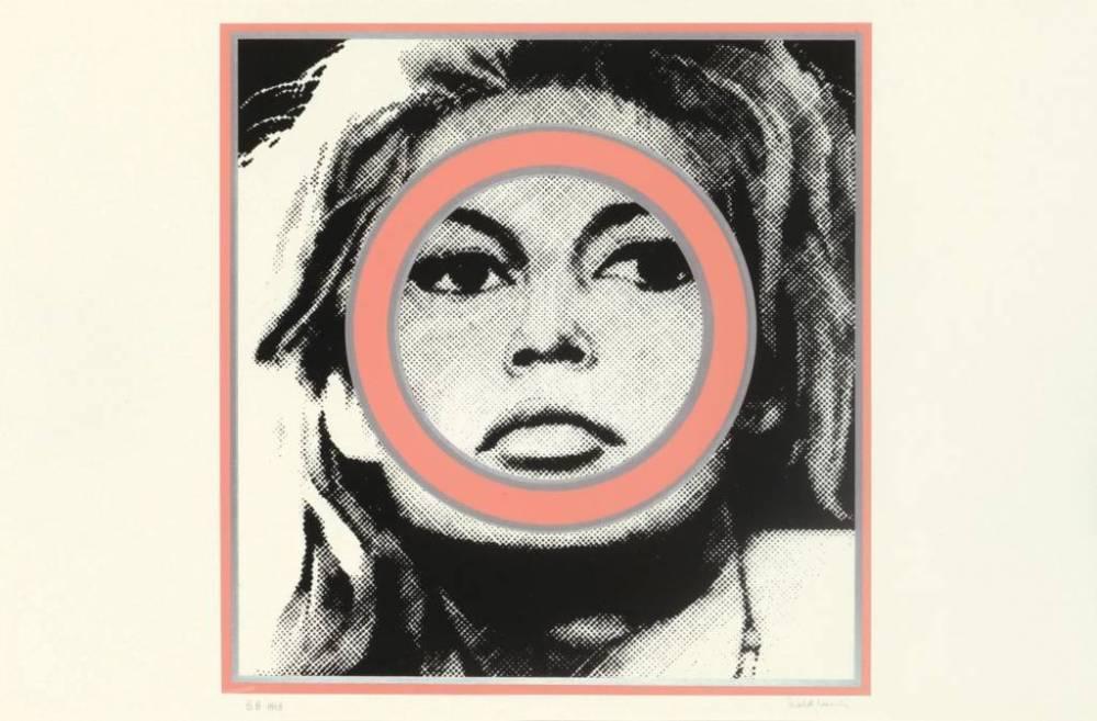 Gerald Laing, Brigitte Bardot , Baby Baby Wild Things, Screenprint, 1968, Pallant House Gallerty