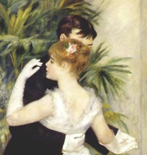 Renoir, Dance in the City detail