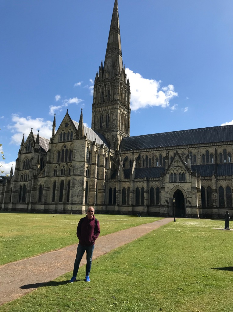 Salisbury Cathedral in the Spring Sunshine, May 2021