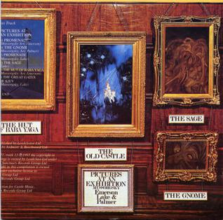 William Neal, album cover for Pictures at an Exhibition by Emerson Lake & Palmer, 1971.