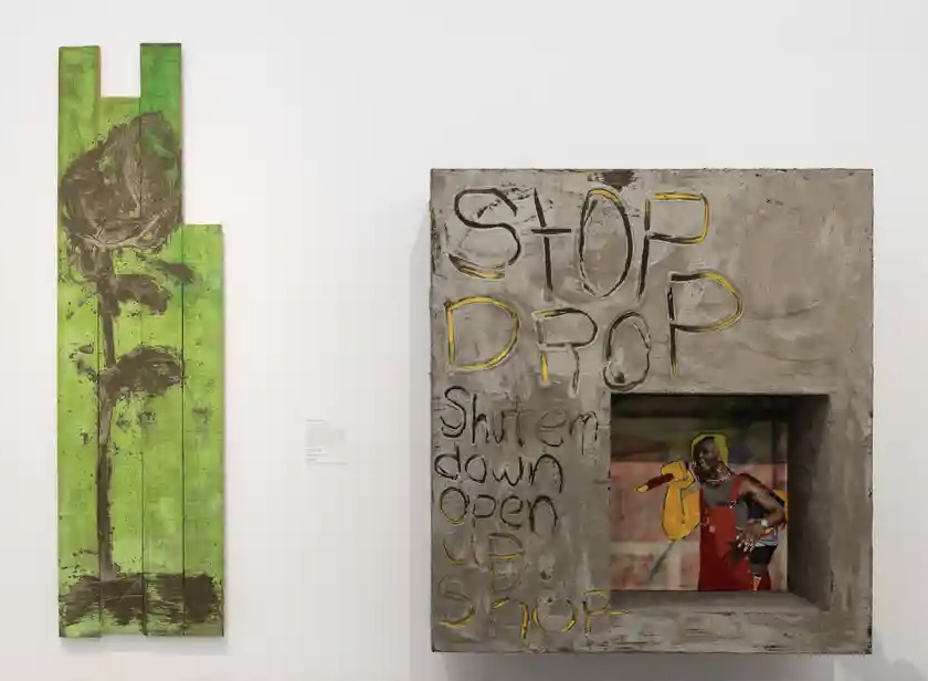Alvaro Barrington exhibiting at Mixing it Up: Painting Today, 9th Sept - 12th Dec 2021, Hayward Gallery, London