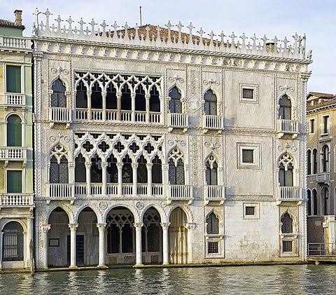 Ca' d'Oro, Venice, Italy, john piper, Southampton
